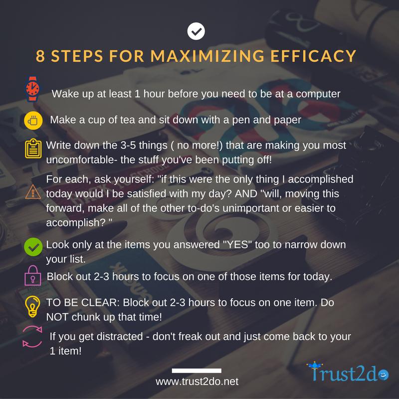 8-steps-for-maximizing-efficacy