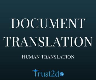 Business document translation