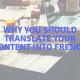 English to French translation services